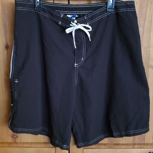 Swimsuits For All Black Board Shorts With …